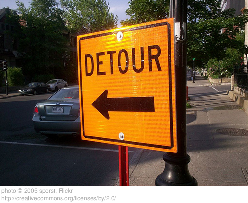 When Your Detour is Someone Else's Destination