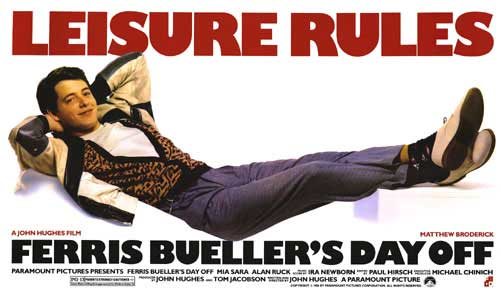 "Five Writing Secrets Found in the Movie, ""Ferris Bueller's Day Off"""