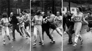 When a Woman Isn't Allowed to Run the Race (The Picture of the Tackle)
