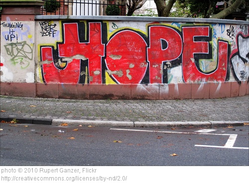 Where You Might Find That Elusive Thing Called Hope