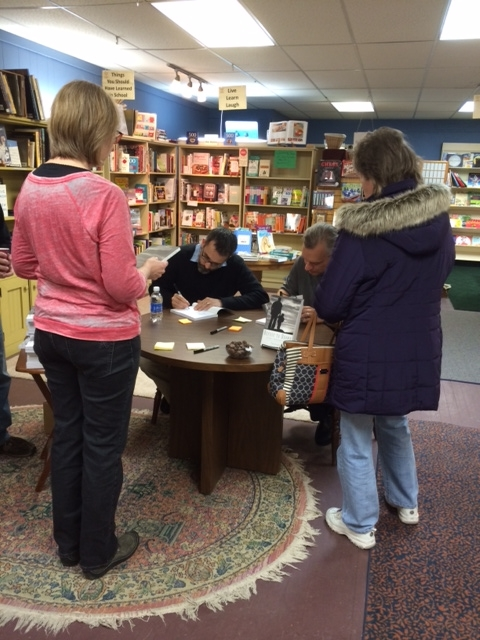 How Our First Book Signing Went on Saturday