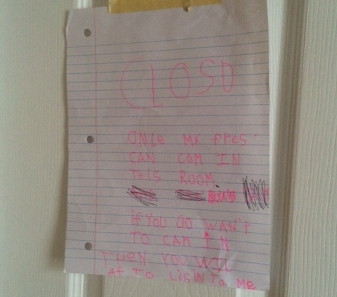 What I Learned From the Note My Daughter Left On Her Own Door