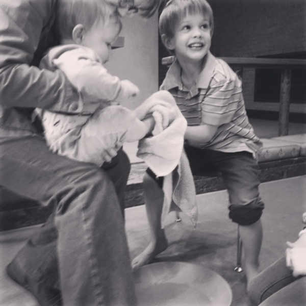 When Sam Washed His Little Brother's Feet (or, Rediscovering a Kindness That Brings Down Barriers)
