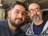 My new friend and Arabic translator.