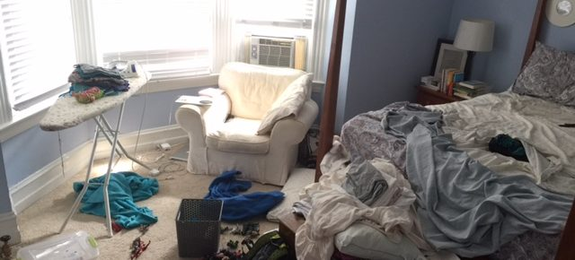 Why I've Never Been so Happy About a Messy Bedroom